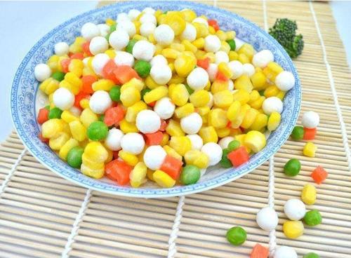 速冻甜玉米粒加工