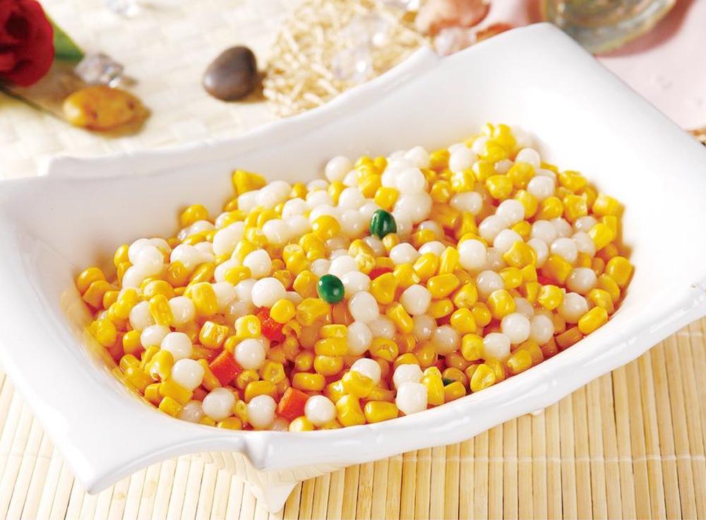 速冻甜玉米粒营养