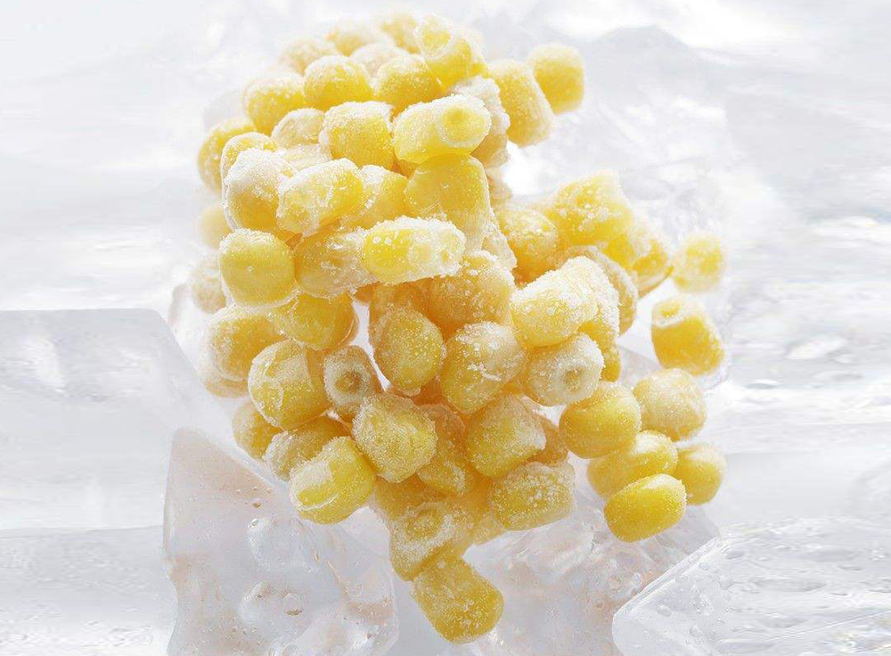 生玉米变成速冻甜玉米保存半年以上也不坏